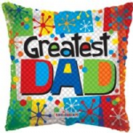 "GREATEST DAD BALLOON  18""  86050-18"